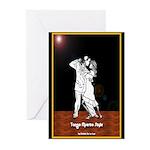Tango Muerto Style Greeting Cards (Pk of 10)