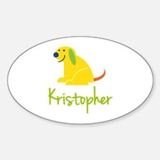 Kristopher Loves Puppies Decal