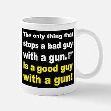 Good Guy with a gun dark Mug