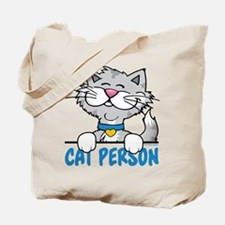 Cat Person Tote Bag