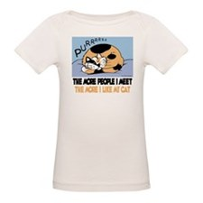 The More People I Meet Cat T-Shirt