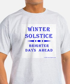 Solstice Ash Grey T-Shirt