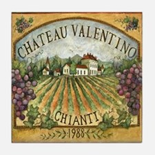 Chianti Wine Tile Coaster