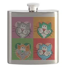 Pop-Art-Quilt-Cat.png Flask