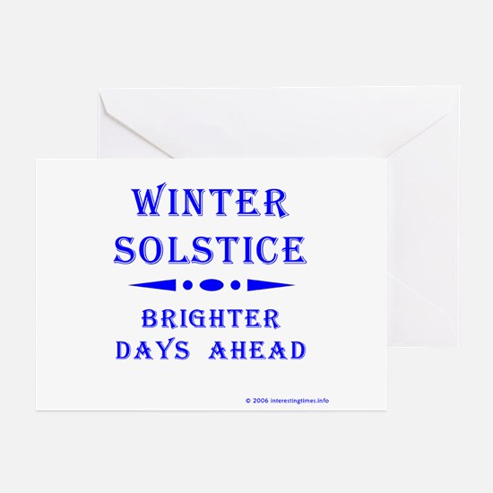 Solstice Greeting Cards (Pk of 10)