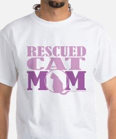Rescued Cat Mom Shirt