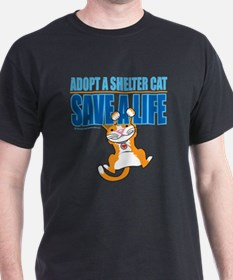 Adopt A Shelter Cat Save A Li T-Shirt