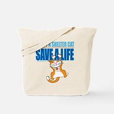 Adopt A Shelter Cat Save A Li Tote Bag