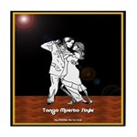 Tango Muerto Style Tile Coaster