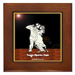 Tango Muerto Style Framed Tile