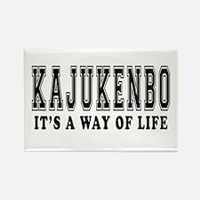Kajukenbo Is Life Rectangle Magnet