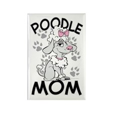 Poodle Mom Rectangle Magnet