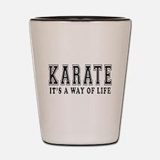 Karate Is Life Shot Glass