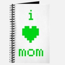 i heart mom (green) Journal