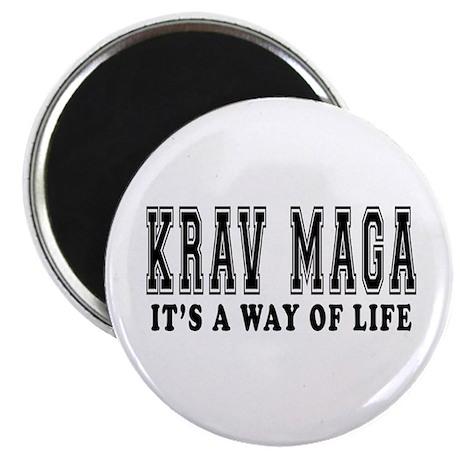 Krav Maga Is Life Magnet