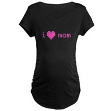 i heart mom (pink) T-Shirt