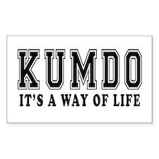 Kumdo Is Life Decal