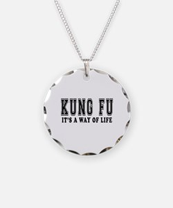 Kung Fu Is Life Necklace