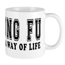 Kung Fu Is Life Small Mug