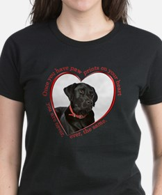 Lab Paw Prints T-Shirt