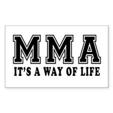 Mixed martial arts Is Life Decal