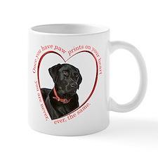 Lab Paw Prints Mug