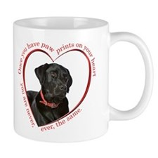 Lab Paw Prints Small Mug