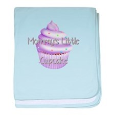 MOMMYS LITTLE CUPCAKE baby blanket