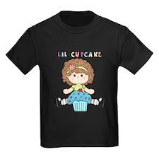 Lil Cupcake Girl Blue T-Shirt