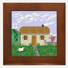 IRISH COTTAGE Framed Tile