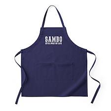 Sambo Is Life Apron (dark)