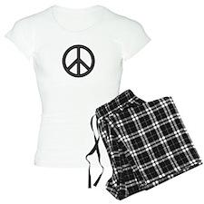 Round Peace Sign Pajamas