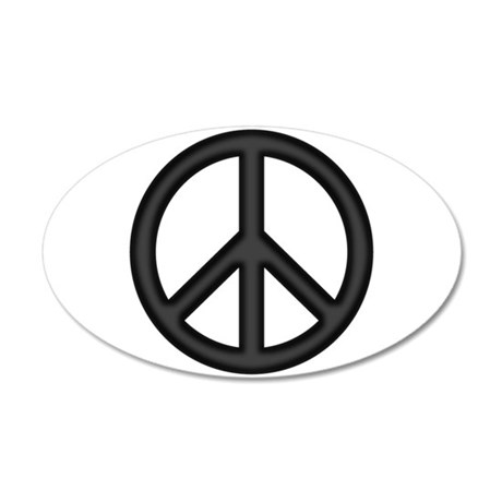 Glitter peace sign wallpaper