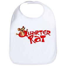 Quarter Rat Logo Bib