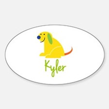 Kyler Loves Puppies Decal