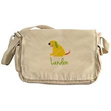 Landen Loves Puppies Messenger Bag