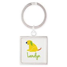 Landyn Loves Puppies Keychains