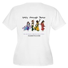 ISAMETD Unity Through Dance Plus Size T-Shirt