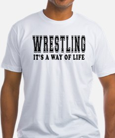 Wrestling Is Life Shirt