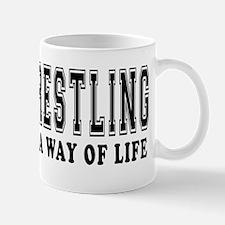 Wrestling Is Life Mug