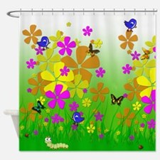Whimsical Garden Shower Curtain