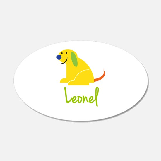 Leonel Loves Puppies Wall Decal
