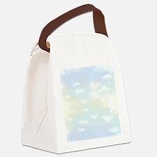 Blue Sky Canvas Lunch Bag