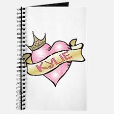 Sweetheart Kylie Custom Princess Journal