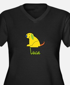 Luca Loves Puppies Plus Size T-Shirt