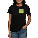 Dutch Gold And Yellow Design Women's Dark T-Shirt