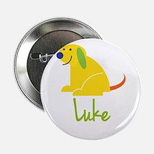 """Luke Loves Puppies 2.25"""" Button"""
