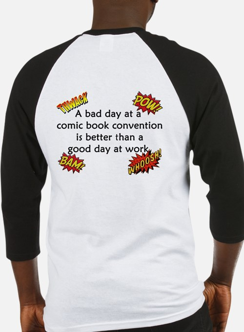 Comic Book Conventions Baseball Jersey