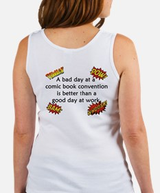 Comic Book Conventions Women's Tank Top