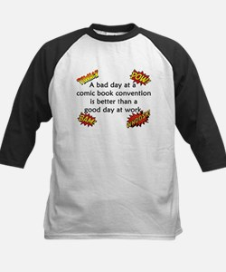 Comic Book Conventions Kids Baseball Jersey